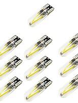 Недорогие -10 шт. T10 Автомобиль Лампы 2 W COB 150 lm 2 Светодиодная лампа Лампа поворотного сигнала Назначение