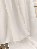 abordables -Qualité supérieure Serviette, Couleur Pleine 100% Coton Salle de  Bain 1 pcs