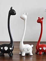Недорогие -3шт Резина Модерн / Европейский стиль для Украшение дома, Подарки / Домашние украшения Дары