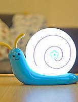 Недорогие -1 комплект LED Night Light Теплый белый + белый Аккумуляторы AA / DC Powered Для детей / Мультипликация / Милый 5 V