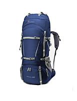 cheap -50 L Rucksack - Breathability Outdoor Hiking Blue, Grey, Burgundy