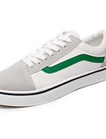 Недорогие -Муж. Комфортная обувь Искусственная кожа Весна лето На каждый день Кеды Черный / Красный / Зеленый