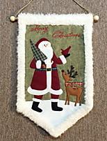Недорогие -Рождество Праздник Полиэстер Квадратный Оригинальные Рождественские украшения