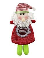 economico -Statuine natalizie Vacanza Stoffa (cotone) Quadrato Originale Decorazione natalizia