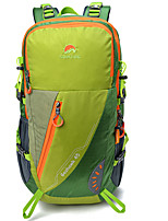 cheap -50 L Rucksack - Rain-Proof, Wearable, Breathability Outdoor Hiking, Camping, Travel Nylon Red, Green, Blue