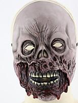 Недорогие -Праздничные украшения Украшения для Хэллоуина Маски на Хэллоуин Для вечеринок / Cool Серый 1шт