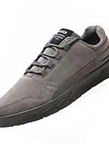 Недорогие -Муж. Комфортная обувь Полиуретан Осень Винтаж Кеды Доказательство износа Черный / Серый / Красный