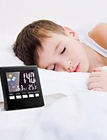 Недорогие -Будильник Светодиод Пластик Автоматические часы с ручным заводом 1 pcs