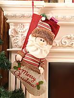 economico -Natale Cartone animato Cotone Quadrato Cartoni animati / Originale Decorazione natalizia