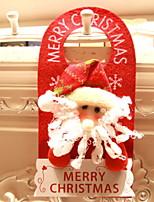 baratos -Enfeites de Natal Férias / Desenho Poliéster Cubo Novidades Decoração de Natal