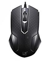 economico -Factory OEM USB cablato Gaming mouse / topo ufficio chiavi Luce LED 3 livelli DPI regolabili 3 tasti programmabili 1200 dpi