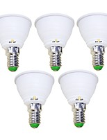 cheap -EXUP® 5pcs 5 W 450 lm E14 LED Spotlight 1 LED Beads COB 85-265 V