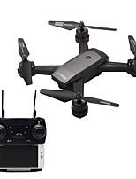 baratos -RC Drone LH-X34F RTF 4CH 6 Eixos 2.4G Com Câmera HD 2.0MP 720P Quadcópero com CR Retorno Com 1 Botão / Modo Espelho Inteligente / Acesso à Gravação em Tempo Real Quadcóptero RC / Controle Remoto