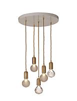 Недорогие -5-Light Шары Подвесные лампы Рассеянное освещение - Хрусталь, 110-120Вольт / 220-240Вольт Лампочки не включены