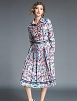 cheap -Maxlindy Women's Vintage / Sophisticated A Line Dress - Geometric