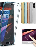 cheap -Case For Huawei P20 Pro / P20 lite Transparent Full Body Cases Solid Colored Soft TPU for Huawei P20 / Huawei P20 Pro / Huawei P20 lite