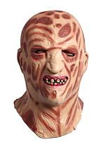 preiswerte -Urlaubsdekoration Halloween-Dekorationen Halloween-Masken / Halloween unterhaltsam Dekorativ / Cool Braun 1pc