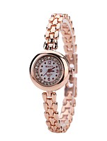 cheap -Women's Bracelet Watch Wrist Watch Quartz New Design Casual Watch Imitation Diamond Alloy Band Analog Fashion Elegant Rose Gold - Rose Gold One Year Battery Life