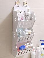 Недорогие -Место хранения организация Косметологический макияж пластик Нерегулярная форма Многослойный / непокрытый