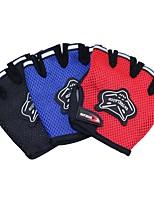 Недорогие -перчатки / Спортивные перчатки / Перчатки для занятий спортом для Аэробика и фитнес / Скайдайвинг / Спортивныеперчатки Спорт / Лиса / Дышащий Сеть / Сетчатый материал / Дышащая сетка 1 комплект