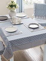 cheap -Contemporary Nonwoven Square Table Cloth Geometric Table Decorations 1 pcs