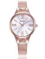 cheap -Women's Dress Watch / Wrist Watch Chinese Casual Watch Alloy Band Casual / Fashion Silver / Rose Gold