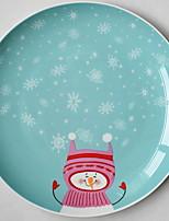 abordables -1 pièce Porcelaine Créatif / Résistant à la chaleur / Adorable Assiettes, Vaisselle