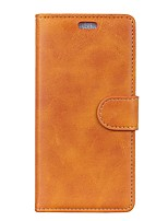 cheap -Case For Xiaomi Redmi Note 4X / Redmi Note 4 Wallet / Card Holder / Flip Full Body Cases Solid Colored Hard PU Leather for Xiaomi Redmi Note 5A / Xiaomi Redmi Note 4X / Xiaomi Redmi Note 4