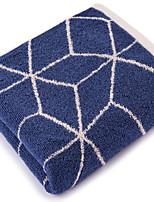 abordables -Qualité supérieure Serviette de bain, Géométrique 100% Coton Salle de  Bain 1 pcs
