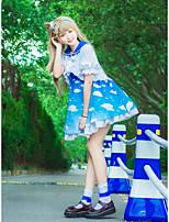 abordables -Inspiré par Aime la vie Minami Kotori Manga Costumes de Cosplay Costumes Cosplay Nœud papillon 1 Bracelet / Manteau / Robe Pour Femme Déguisement d'Halloween