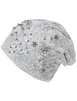 Недорогие -Жен. Классический / Праздник Широкополая шляпа - Бусины / Сетка Цветочный принт
