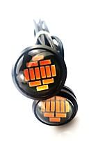 Недорогие -2pcs Нет Автомобиль Лампы 2.4 W SMD 4014 240 lm 12 Светодиодная лампа Лампа поворотного сигнала Назначение Универсальный Универсальный Универсальный
