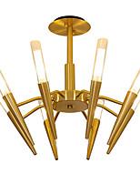 baratos -LWD 8-luz Estilo de vela / Sputnik / Cone Lustres Metal Criativo, Novo Design, Árvore 110-120V / 220-240V Lâmpada Não Incluída / G9