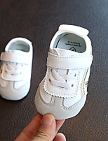 Недорогие -Мальчики / Девочки Обувь Кожа Осень Обувь для малышей Кеды На липучках для Дети Золотой / Синий