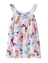 economico -Bambino / Bambino (1-4 anni) Da ragazza Farfalla Animali Senza maniche Vestito