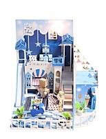 Недорогие -Кукольный домик Милый / утонченный Романтика Современный Куски Детские / Взрослые Подарок