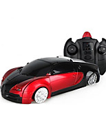 cheap -RC Car MZ MZ 4CH Infrared Car 1:24 20 km/h KM/H Transformable / Luminous / Climbing Function