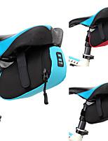 baratos -2 L Bolsa para Bagageiro de Bicicleta Prova-de-Água, Bolsa Rígida, Durável Bolsa de Bicicleta 600D de poliéster Bolsa de Bicicleta Bolsa de Ciclismo Ciclismo Moto
