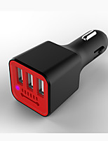 cheap -Car Charger USB Charger Universal Multi-Output / QC 2.0 / QC 3.0 3 USB Ports 3.1 A DC 12V-24V for iPhone X / iPhone 8 Plus / iPhone 8