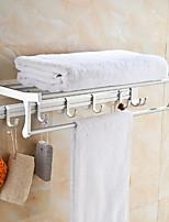 cheap -Bathroom Shelf New Design / Cool Contemporary Aluminum 1pc Wall Mounted