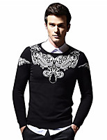 cheap -Men's Basic Pullover - Paisley