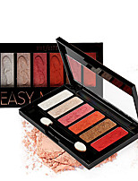 cheap -Makeup 4 Colors Eye Shadow EyeShadow Waterproof / Easy to Carry / lasting Natural Daily Makeup / Party Makeup Makeup Cosmetic