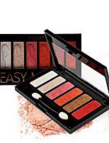 billiga -Makeup 4 färger ÖGONSKUGGA Ögonskugga Vattentät / Lätt att bära / varaktig Naturlig Vardagsmakeup / Festmakeup Smink Kosmetisk