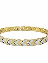 cheap -Men's Classic / Stylish Chain Bracelet - Arrow Stylish, Classic, European Bracelet Gold For Daily / Going out