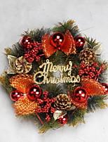 economico -Ghirlande Vacanza Plastica Tonda Originale Decorazione natalizia
