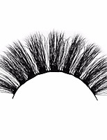 cheap -Eyelash Extensions 2 pcs Best Quality Pro Volumized Natural Curly Animal wool eyelash Event / Party Daily Wear Thick Natural Long - Makeup Daily Makeup Halloween Makeup Party Makeup Trendy High