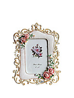 cheap -European Style Resin Hand Painted Picture Frames, 1pc
