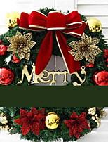 economico -Ghirlande Vacanza PVC Tonda Originale Decorazione natalizia