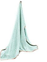 baratos -Super Suave, Impressão Reactiva Listrado / Xadrez Algodão cobertores