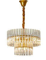 cheap -LWD 9-Light Cylinder / Empire Chandelier Adjustable, New Design, 110-120V / 220-240V Bulb Not Included